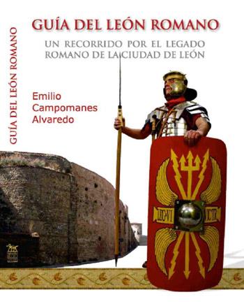 Portada del libro Guía del León Romano ilustrado por Alberto Díaz Nogal