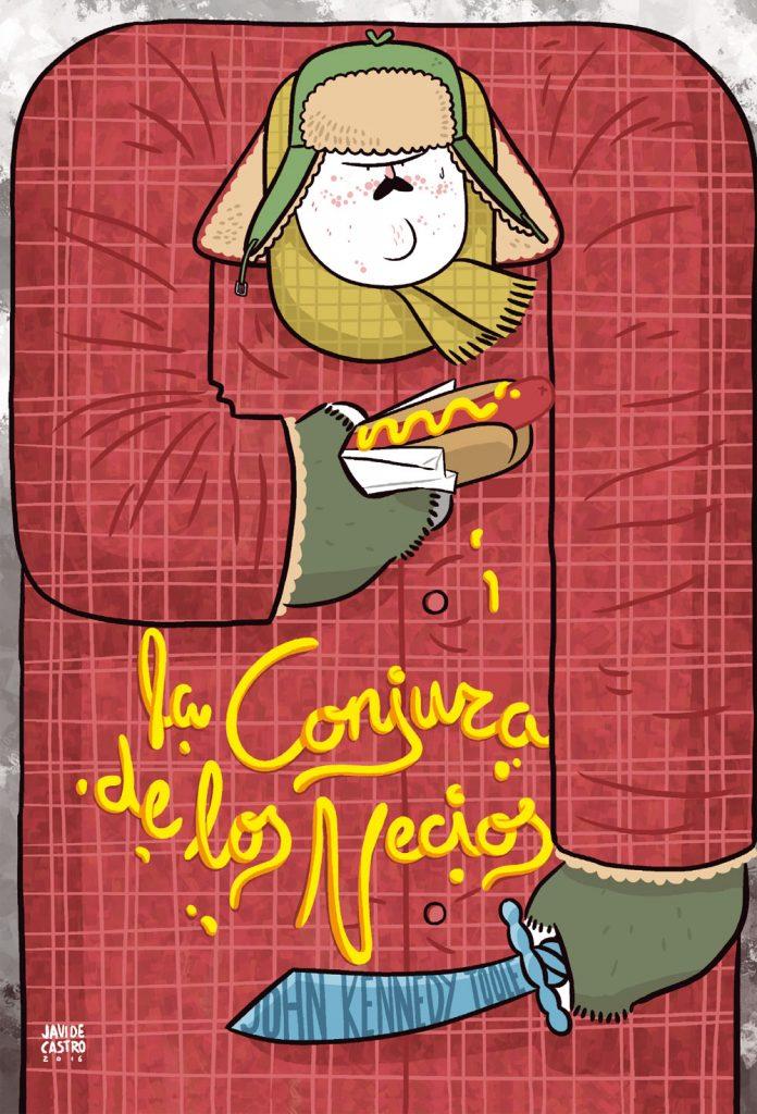 La conjura de los necios ilustrado por Javi de Castro