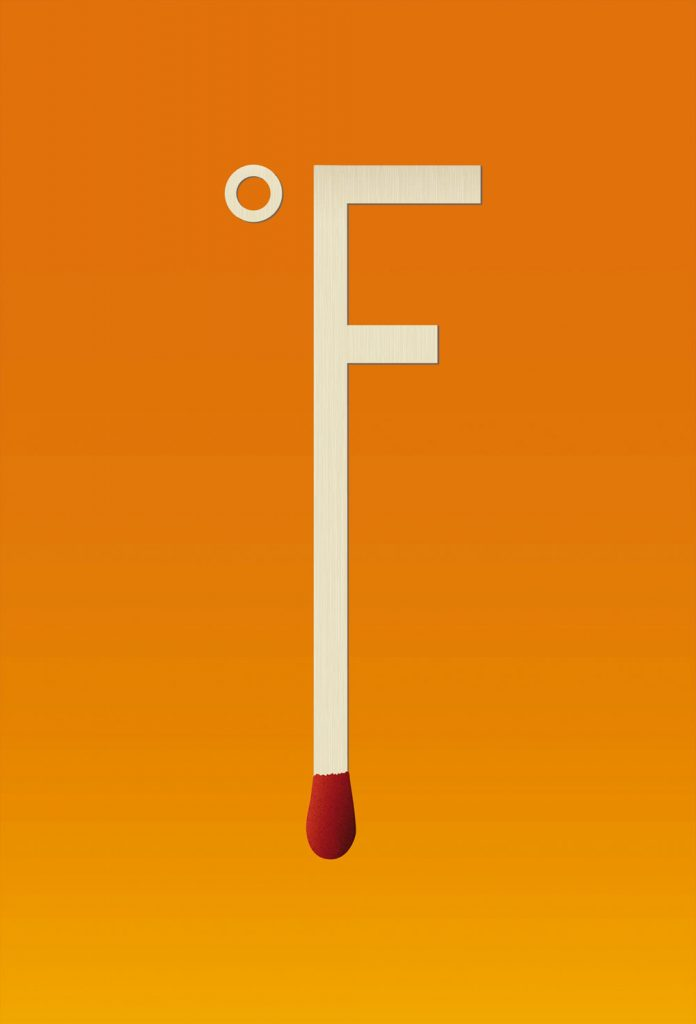 Fahrenheit 451 ilustrado por González Macías