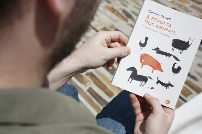 Cubierta de libro para Edicións Positivas