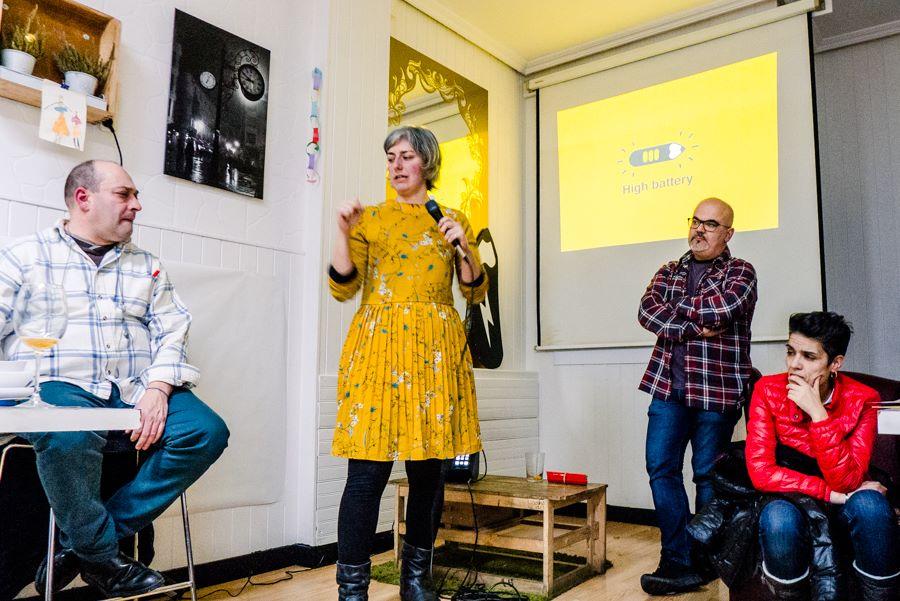Presentación PiLA en FEDECOR - fotografía de:Isabel G. Diez