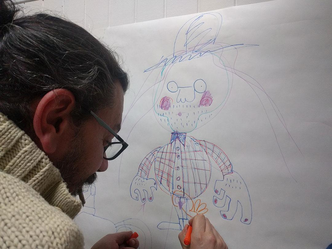 Mural de asistentes a la presentación de La PiLA en FEDECOR bar